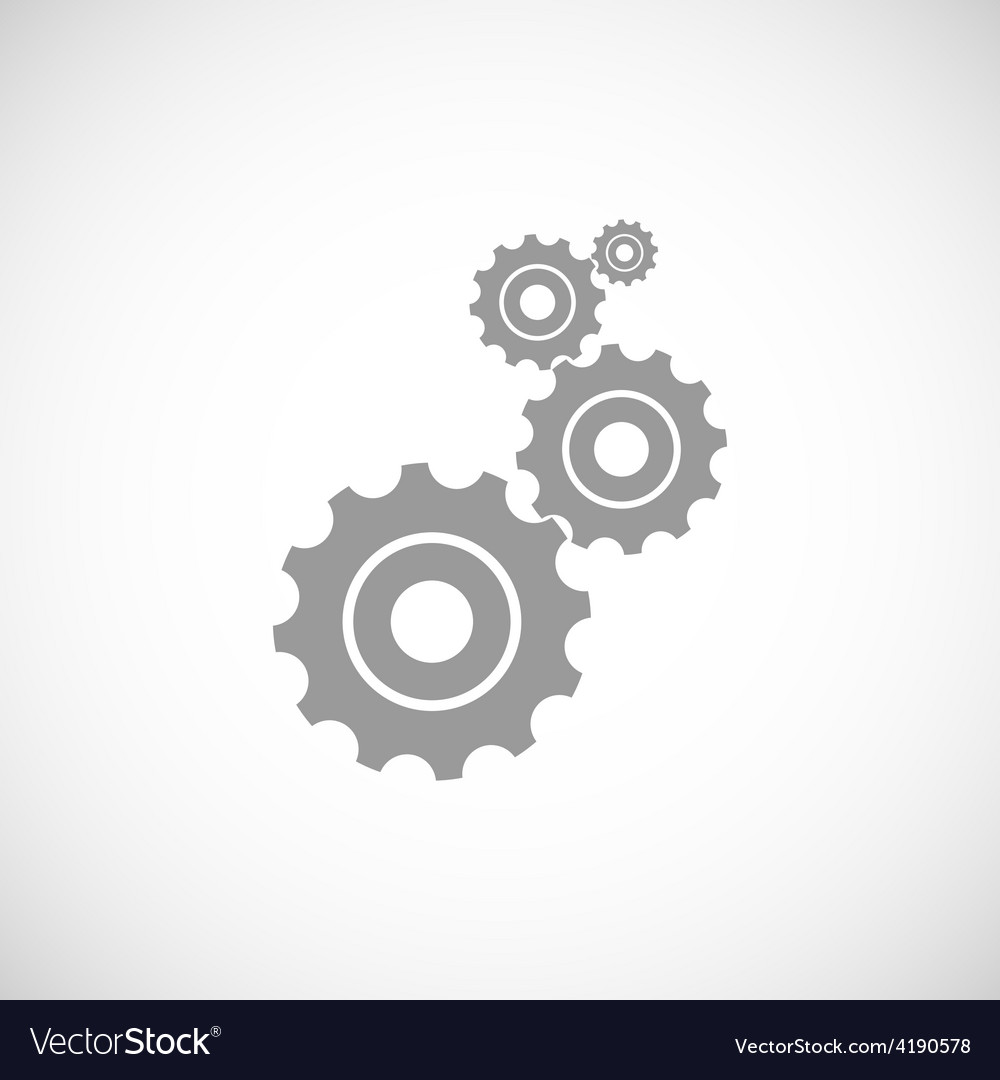 Mechanism black icon vector | Price: 1 Credit (USD $1)