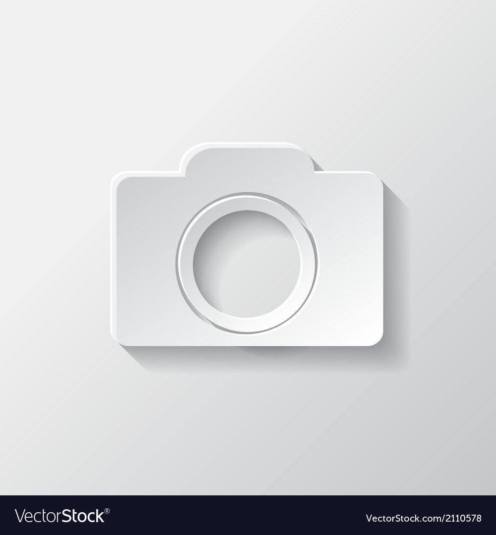 Photo camera icon photography vector | Price: 1 Credit (USD $1)
