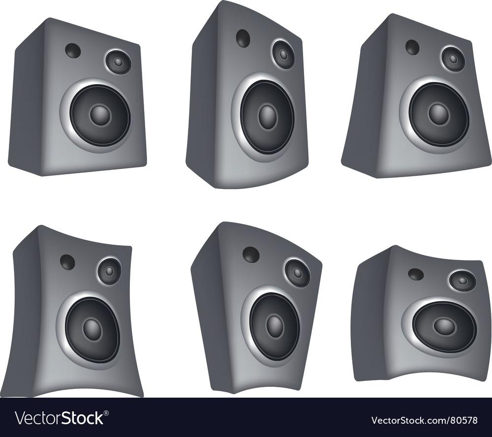 Speaker vector   Price: 1 Credit (USD $1)