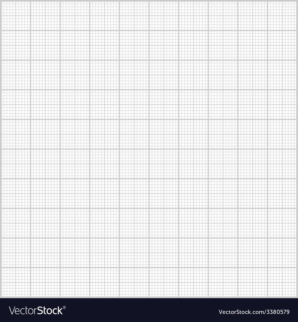 Gray millimeter paper background square grid backg vector | Price: 1 Credit (USD $1)