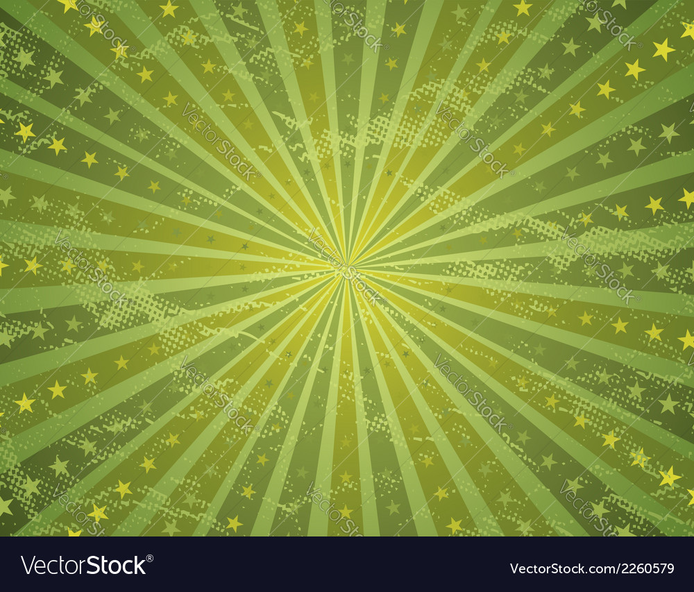 Grunge green antique background vector | Price: 1 Credit (USD $1)