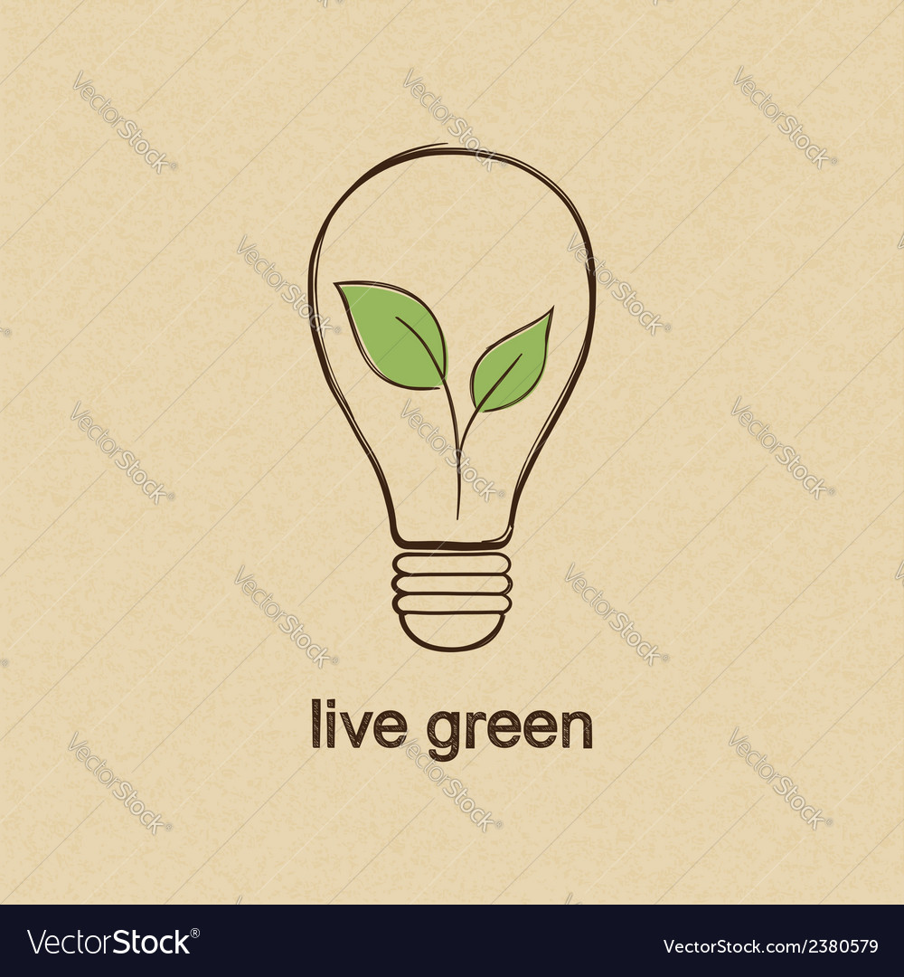 Live green vector | Price: 1 Credit (USD $1)