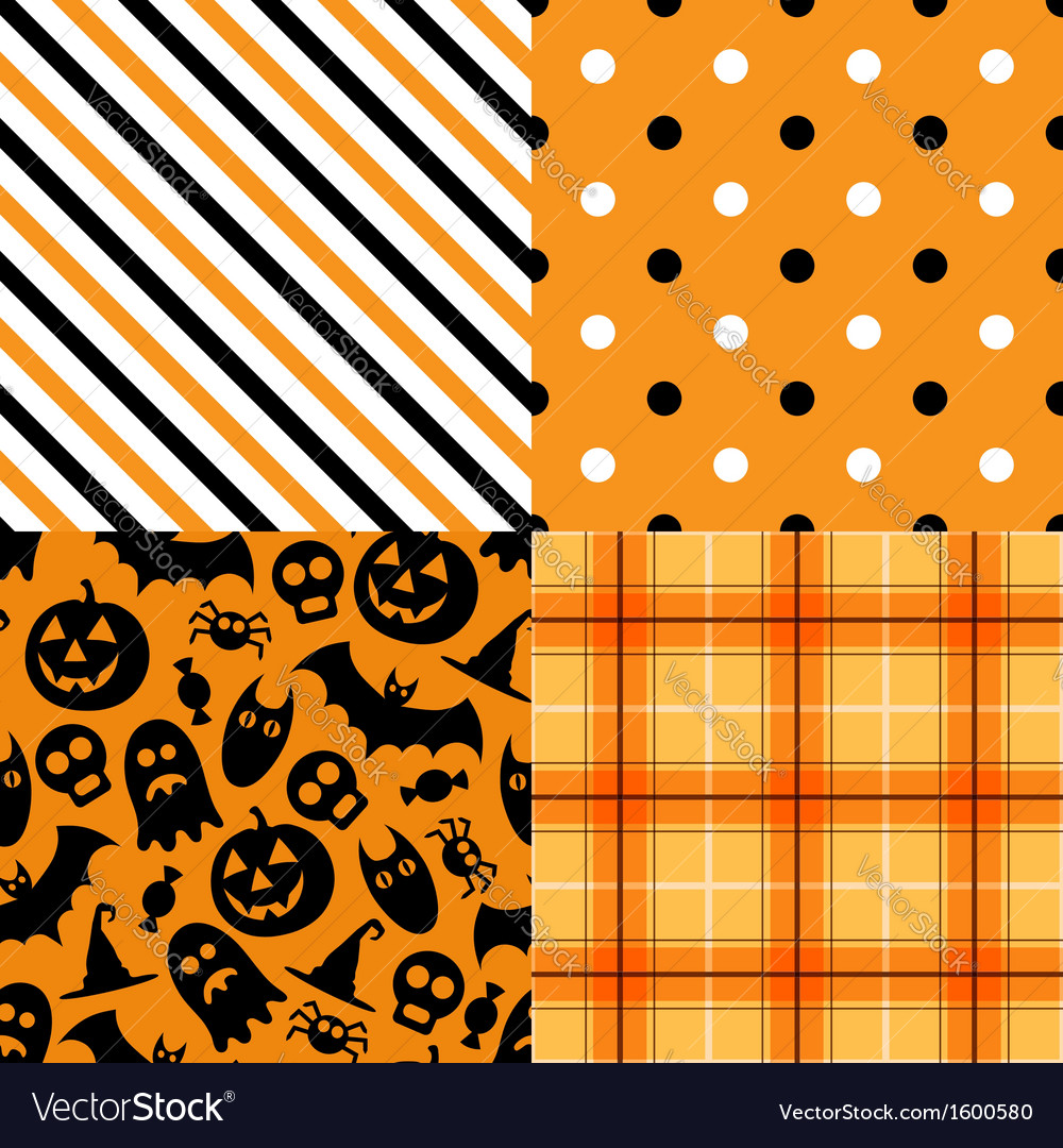 Halloween pattern pack vector | Price: 1 Credit (USD $1)