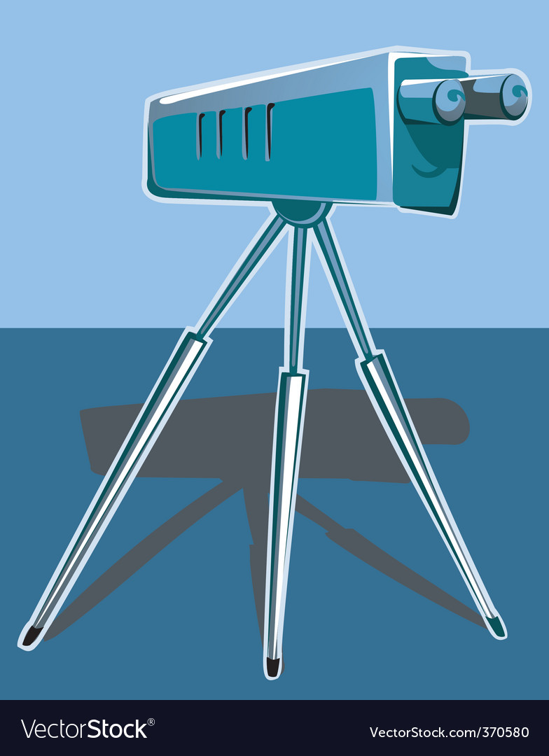 Telescope vector | Price: 1 Credit (USD $1)