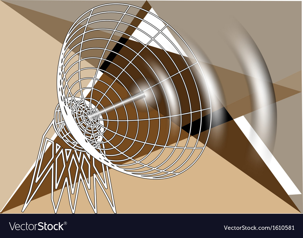 Abstract antenna vector | Price: 1 Credit (USD $1)