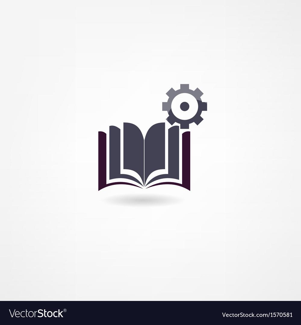 Book icon vector | Price: 1 Credit (USD $1)