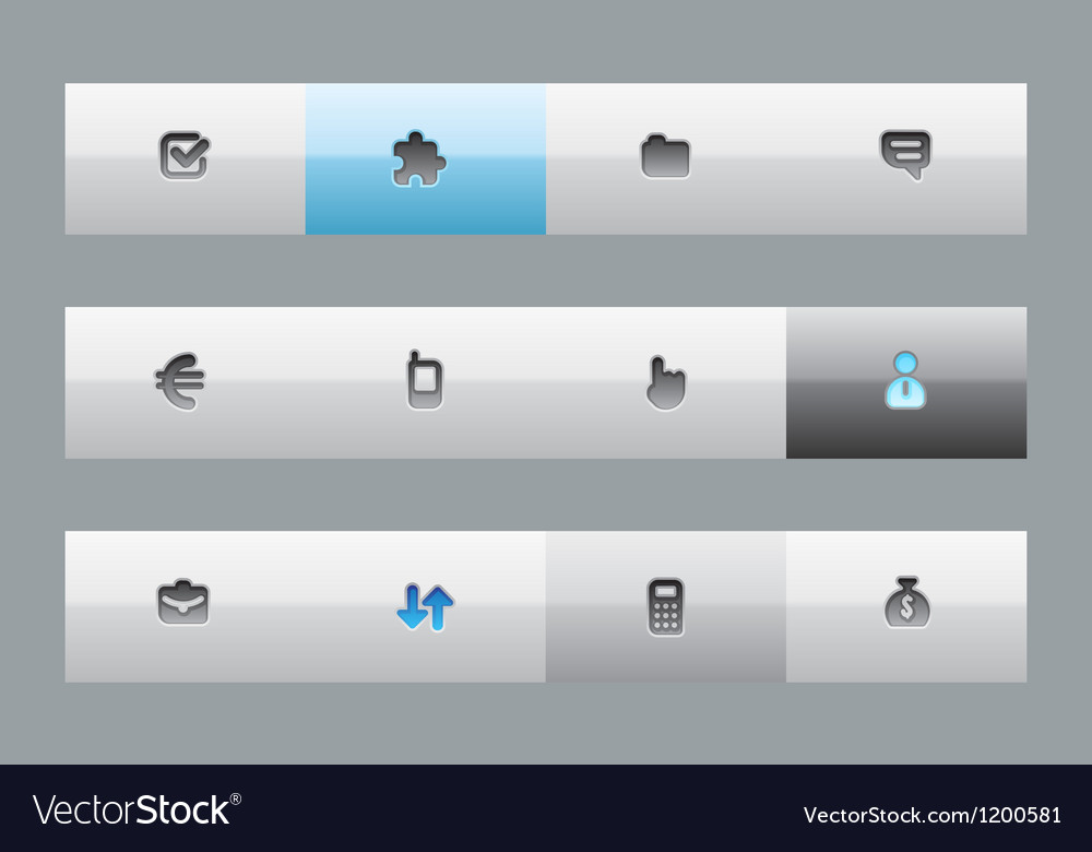Buttons for business vector | Price: 1 Credit (USD $1)