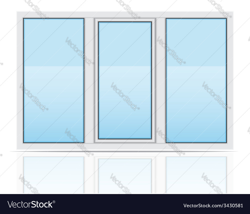 Plastic window 04 vector | Price: 1 Credit (USD $1)