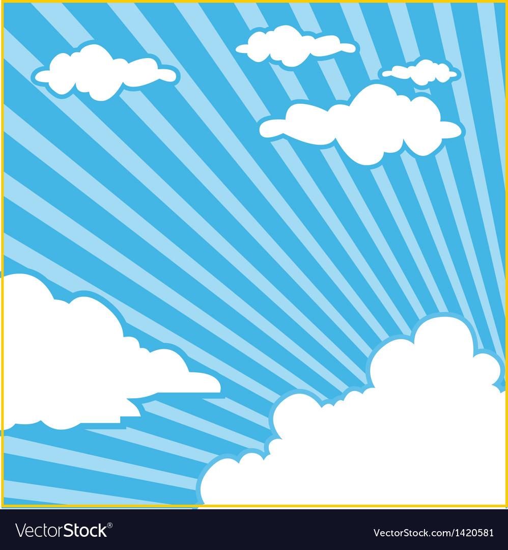 Sky cloud background vector   Price: 1 Credit (USD $1)