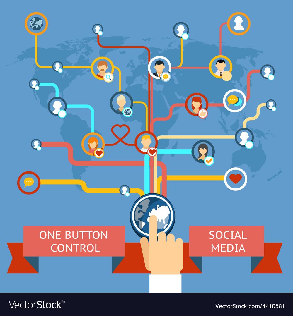 Social media marketing vector | Price: 1 Credit (USD $1)