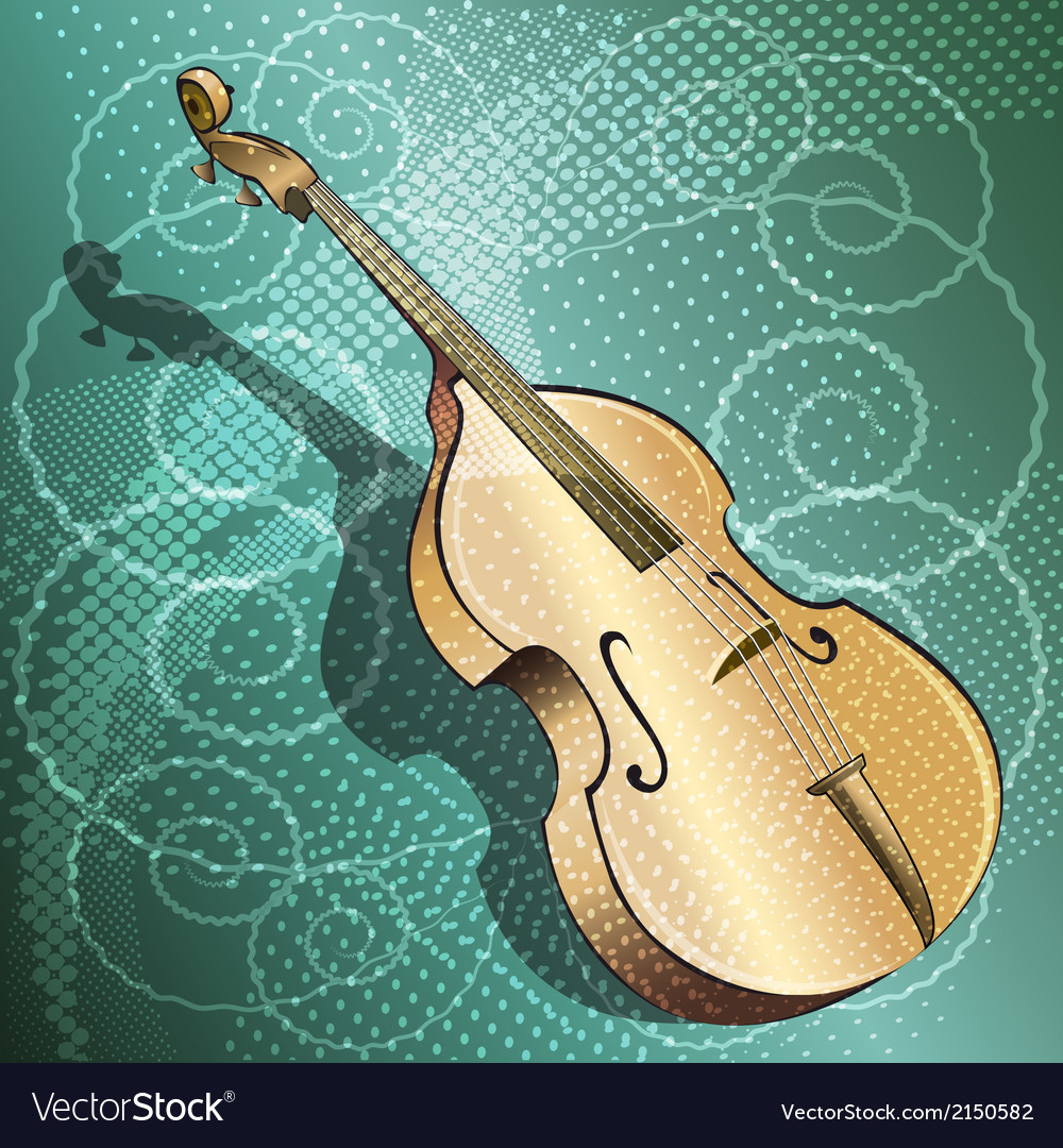 The double bass vector | Price: 1 Credit (USD $1)