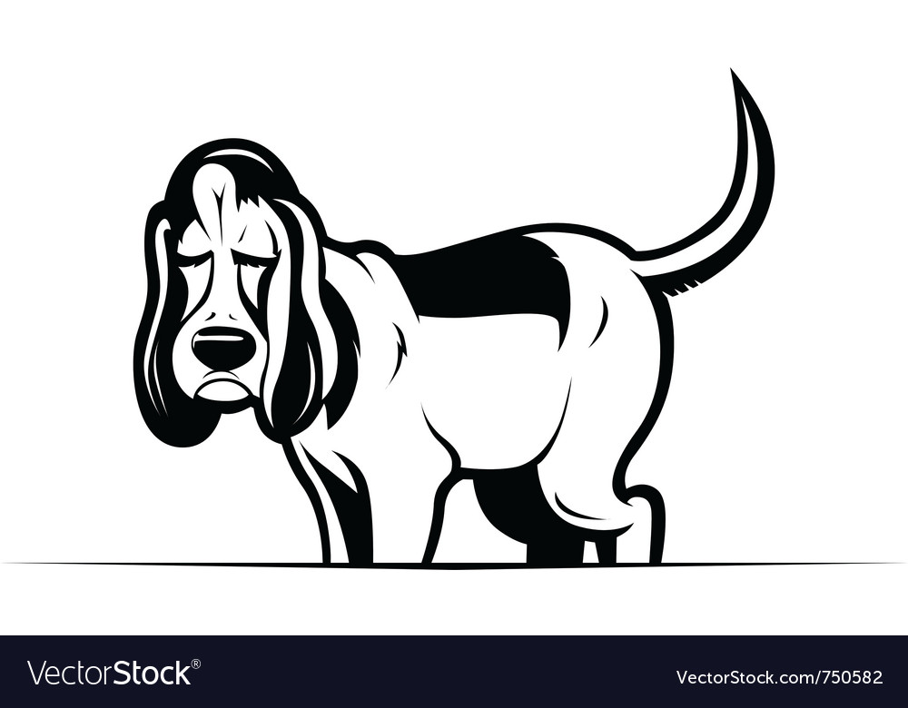 Funny cartoon dog vector | Price: 3 Credit (USD $3)
