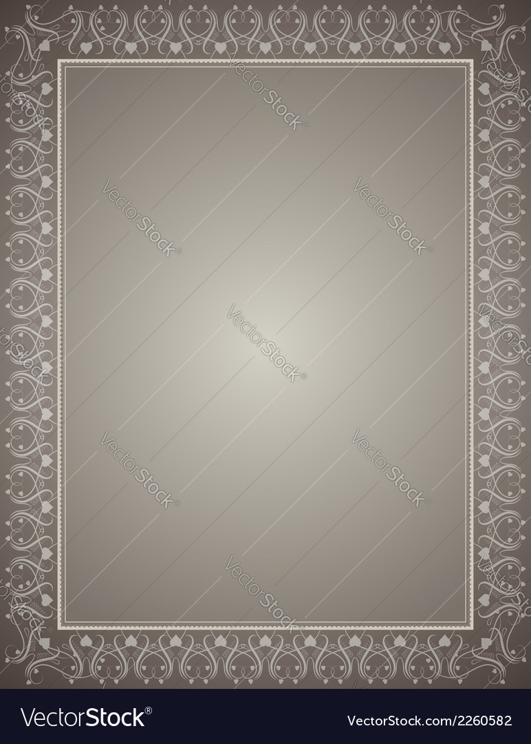 Grey certificate background vector | Price: 1 Credit (USD $1)