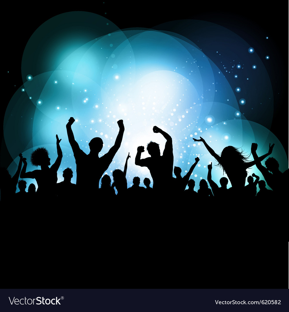 Party audience vector | Price: 1 Credit (USD $1)