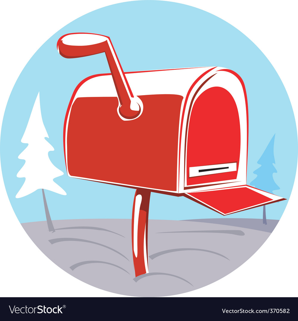 Post box vector | Price: 1 Credit (USD $1)