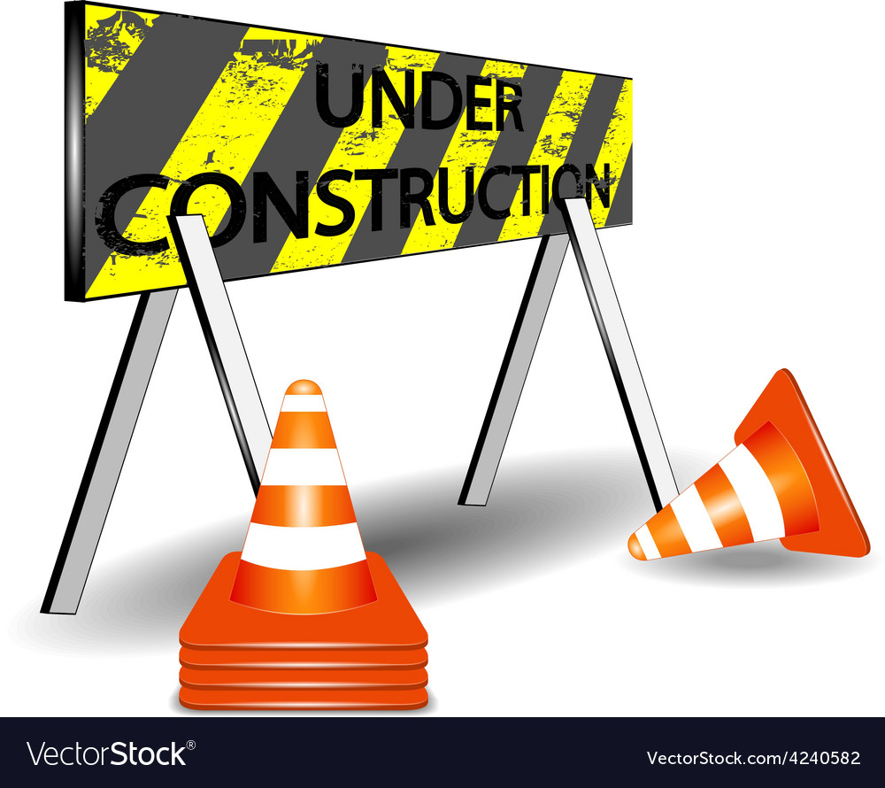 Under construction vector | Price: 3 Credit (USD $3)