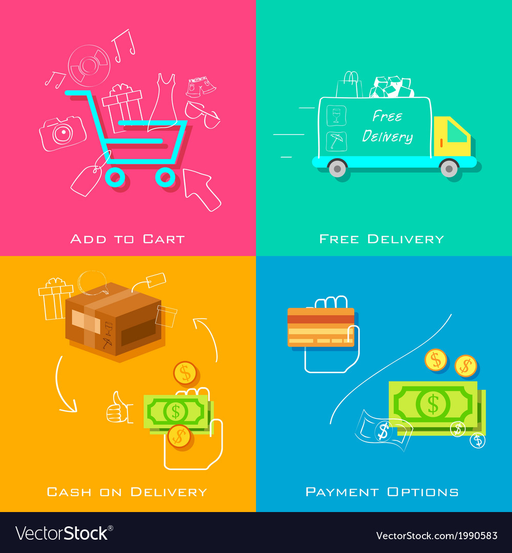 E commerce concept vector | Price: 1 Credit (USD $1)