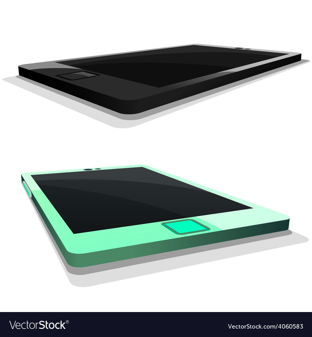 Tablet mobile phone in vector | Price: 3 Credit (USD $3)