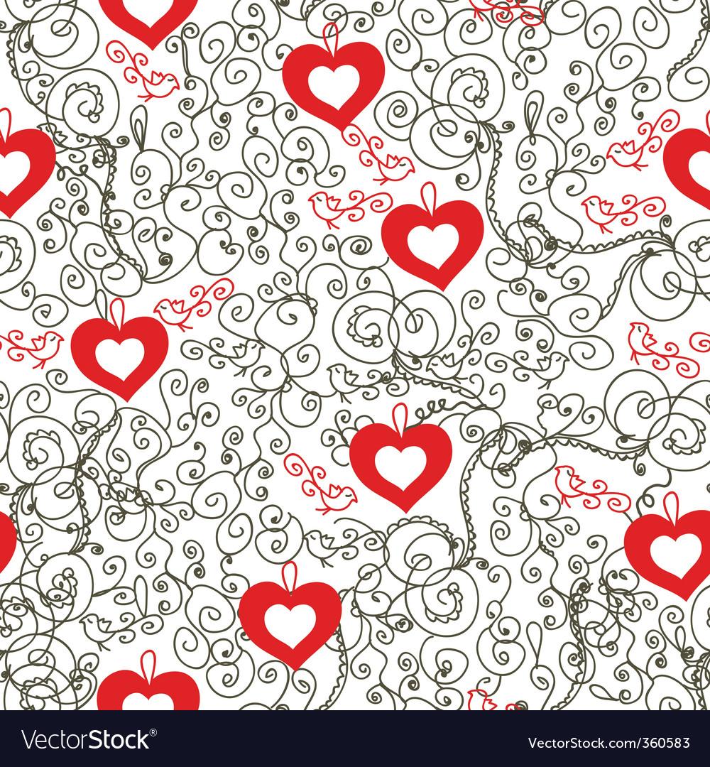 Vintage hearts vector | Price: 1 Credit (USD $1)