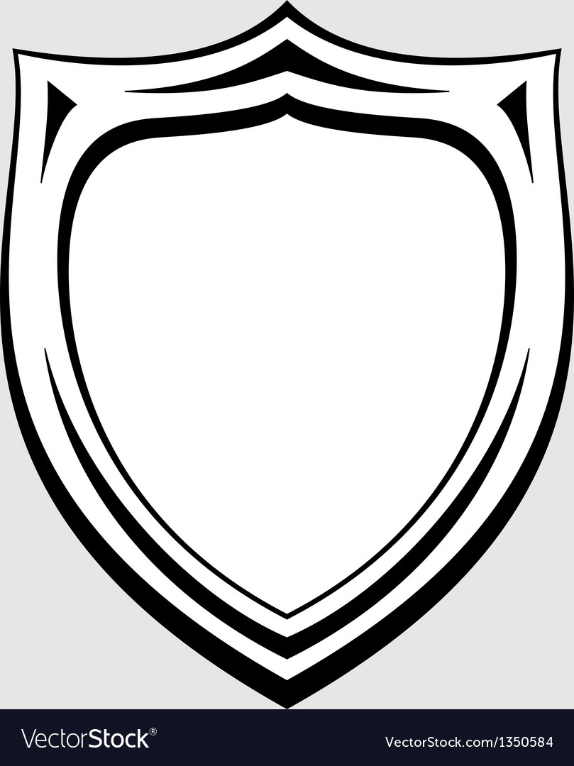 Heraldic badge vector | Price: 1 Credit (USD $1)