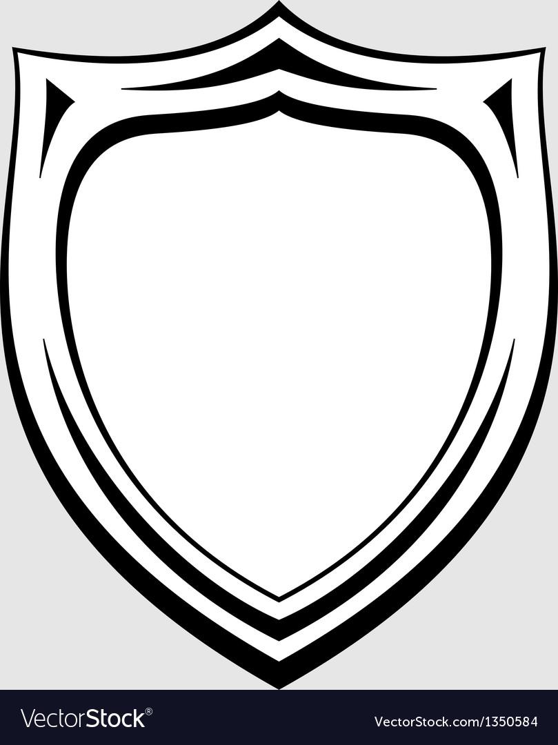 Heraldic badge vector | Price: 1 Credit (USD $1)
