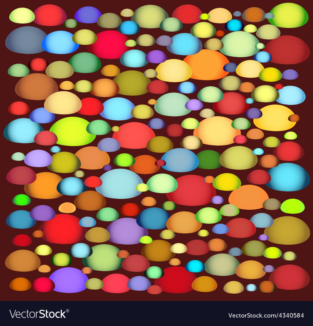 Multi colour abstract shape on deep red vector   Price: 1 Credit (USD $1)