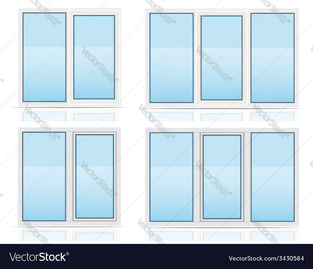Plastic window 05 vector | Price: 1 Credit (USD $1)