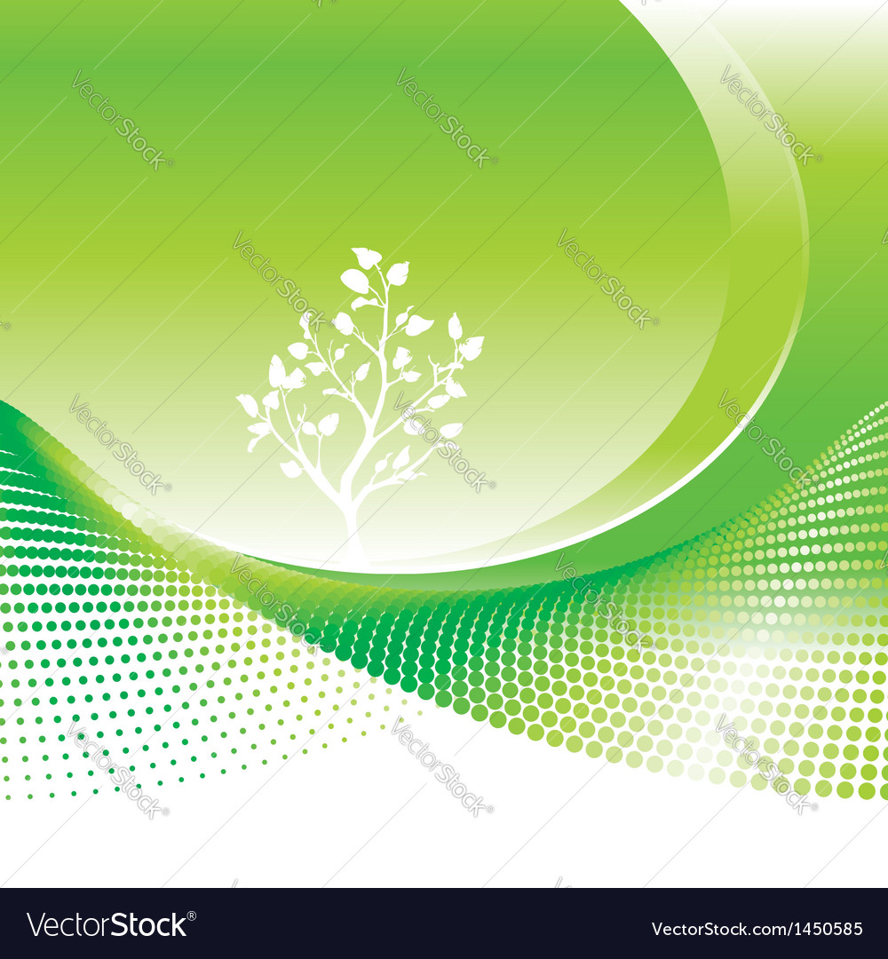Green environmental vector | Price: 1 Credit (USD $1)
