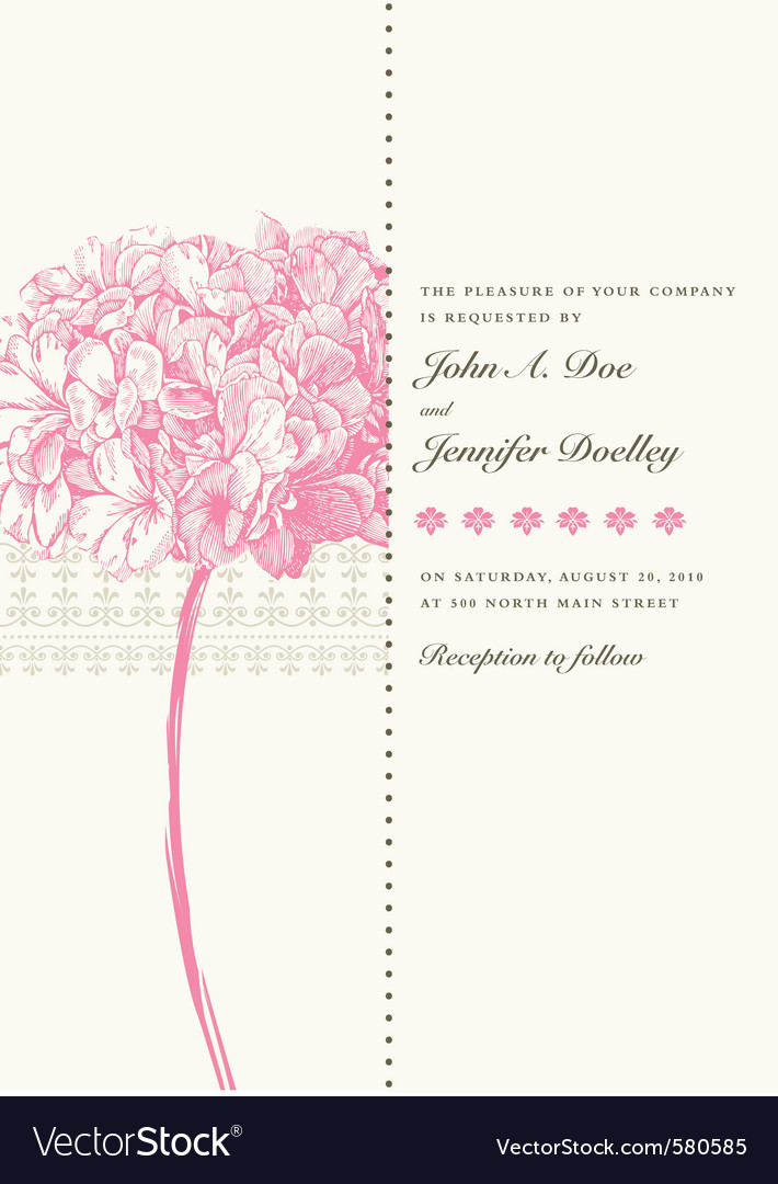 Vintage invitations vector | Price: 1 Credit (USD $1)