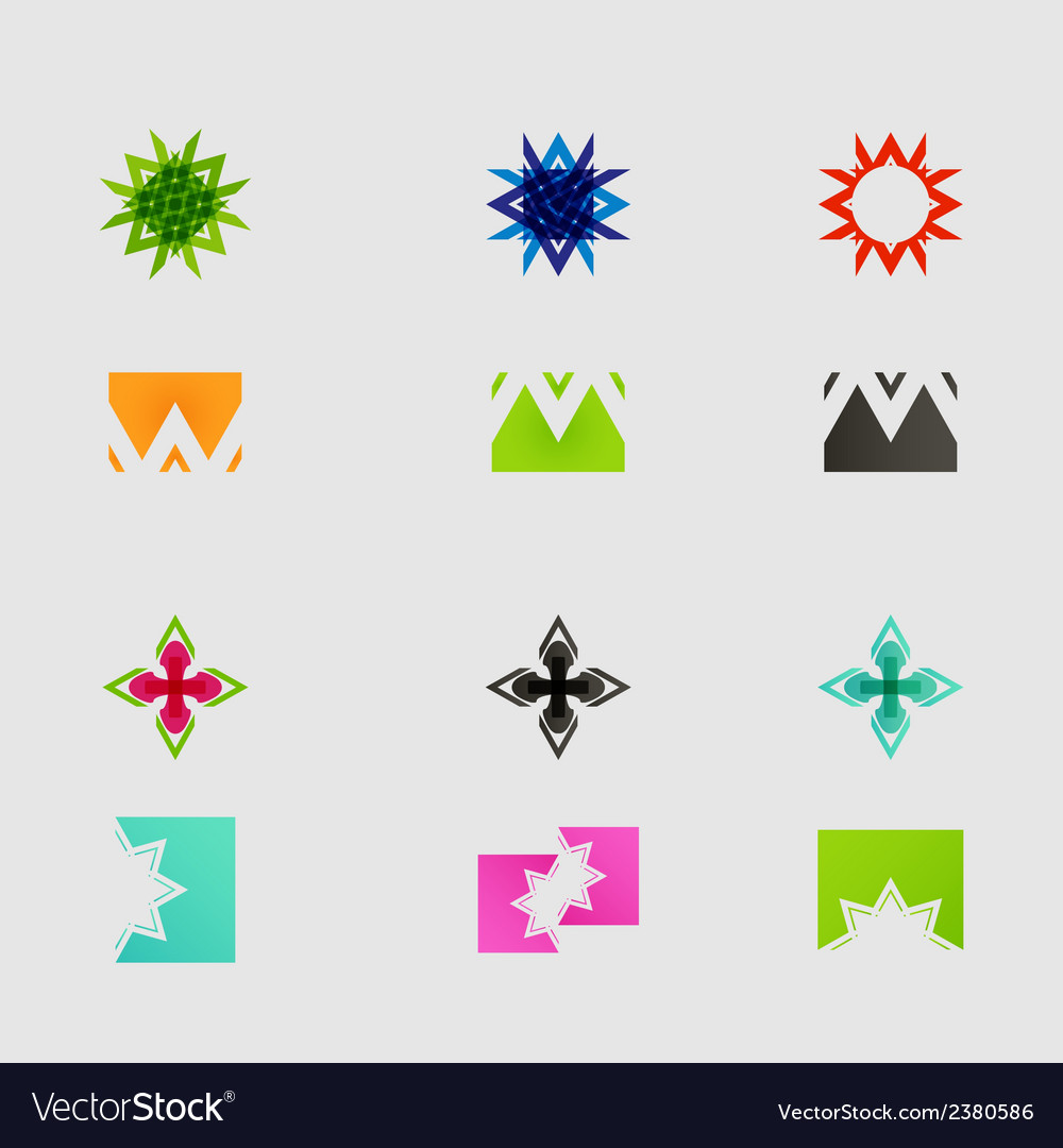 Arrow sign icon set design eps10 vector | Price: 1 Credit (USD $1)