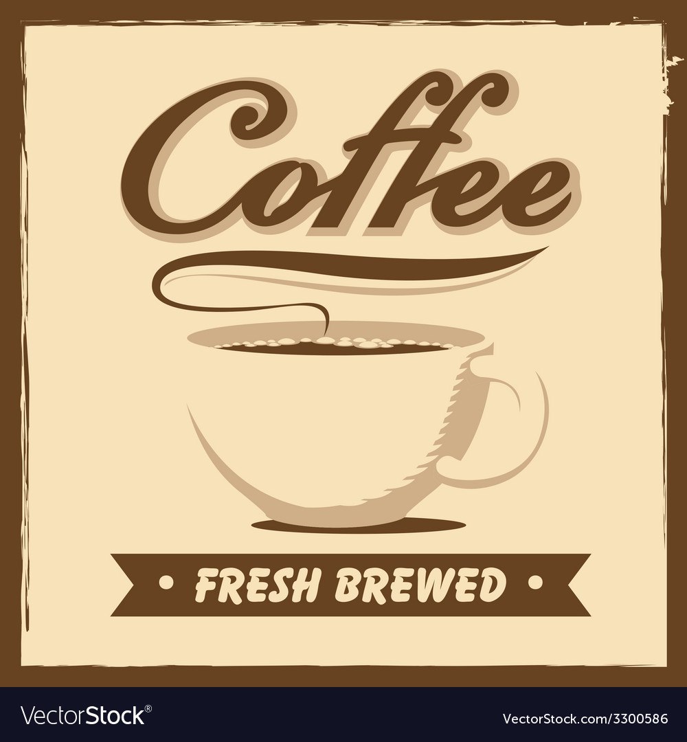 Coffee house vector | Price: 1 Credit (USD $1)