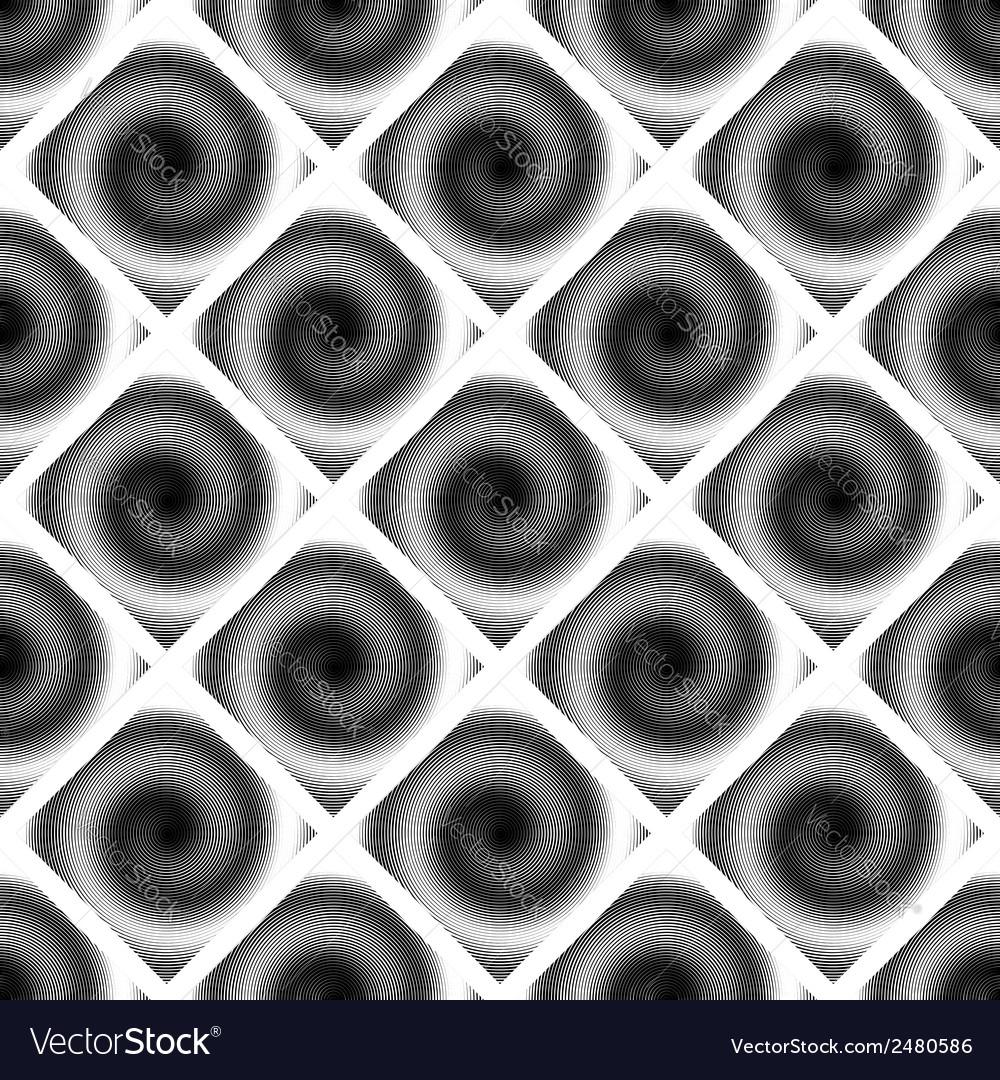Design seamless spiral movement geometric pattern vector | Price: 1 Credit (USD $1)
