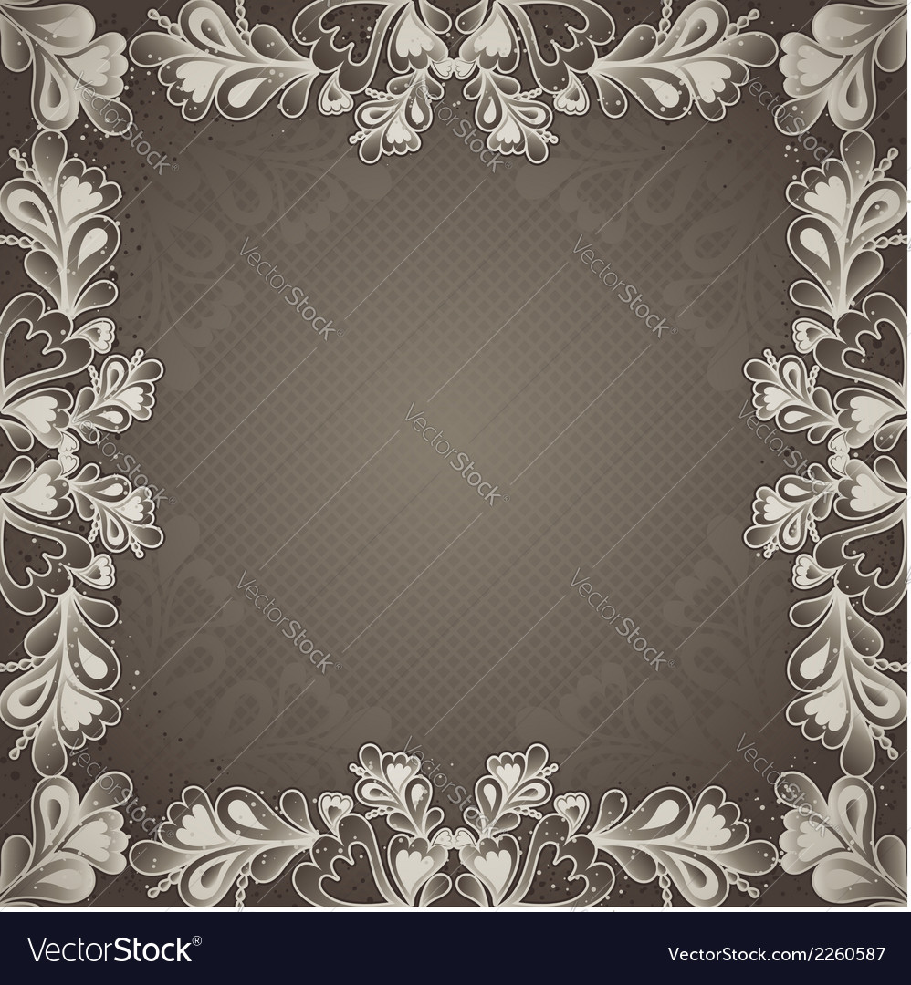Grey antique background vector | Price: 1 Credit (USD $1)