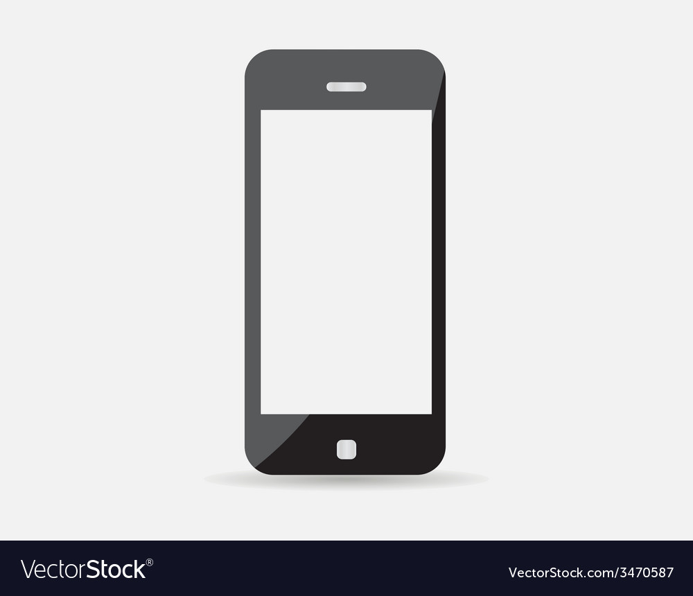 High quality of modern technology device - mobile vector | Price: 1 Credit (USD $1)