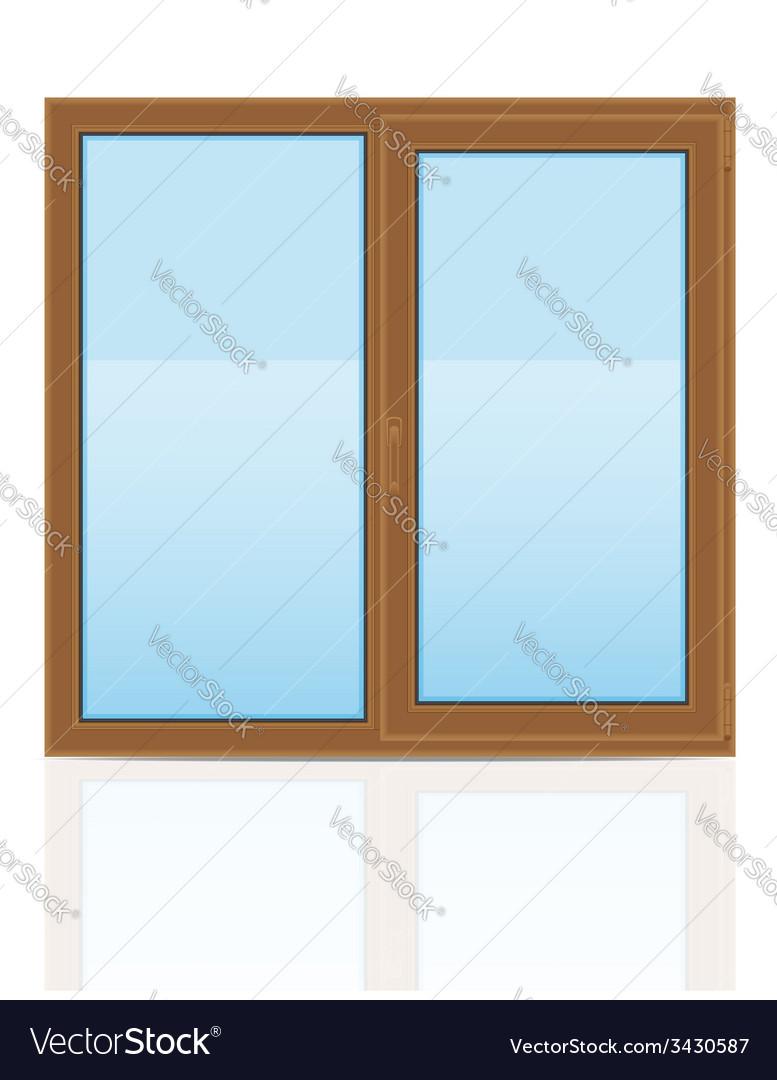 Plastic window 06 vector | Price: 1 Credit (USD $1)