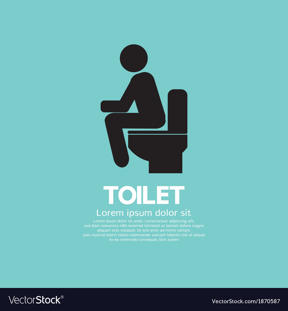 Toilet eps10 vector | Price: 1 Credit (USD $1)