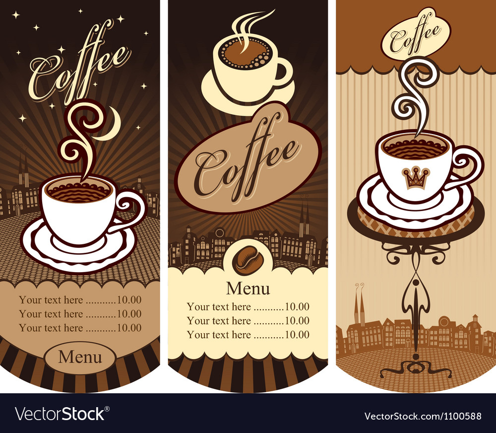 Local cafes vector | Price: 1 Credit (USD $1)