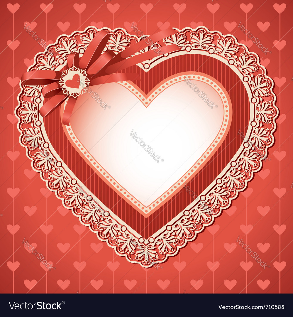 Valentines day vintage vector | Price: 3 Credit (USD $3)
