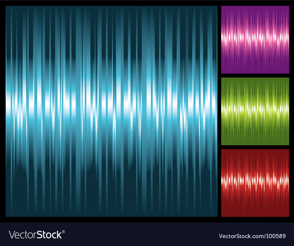 Abstract lights background with stripes vector | Price: 1 Credit (USD $1)
