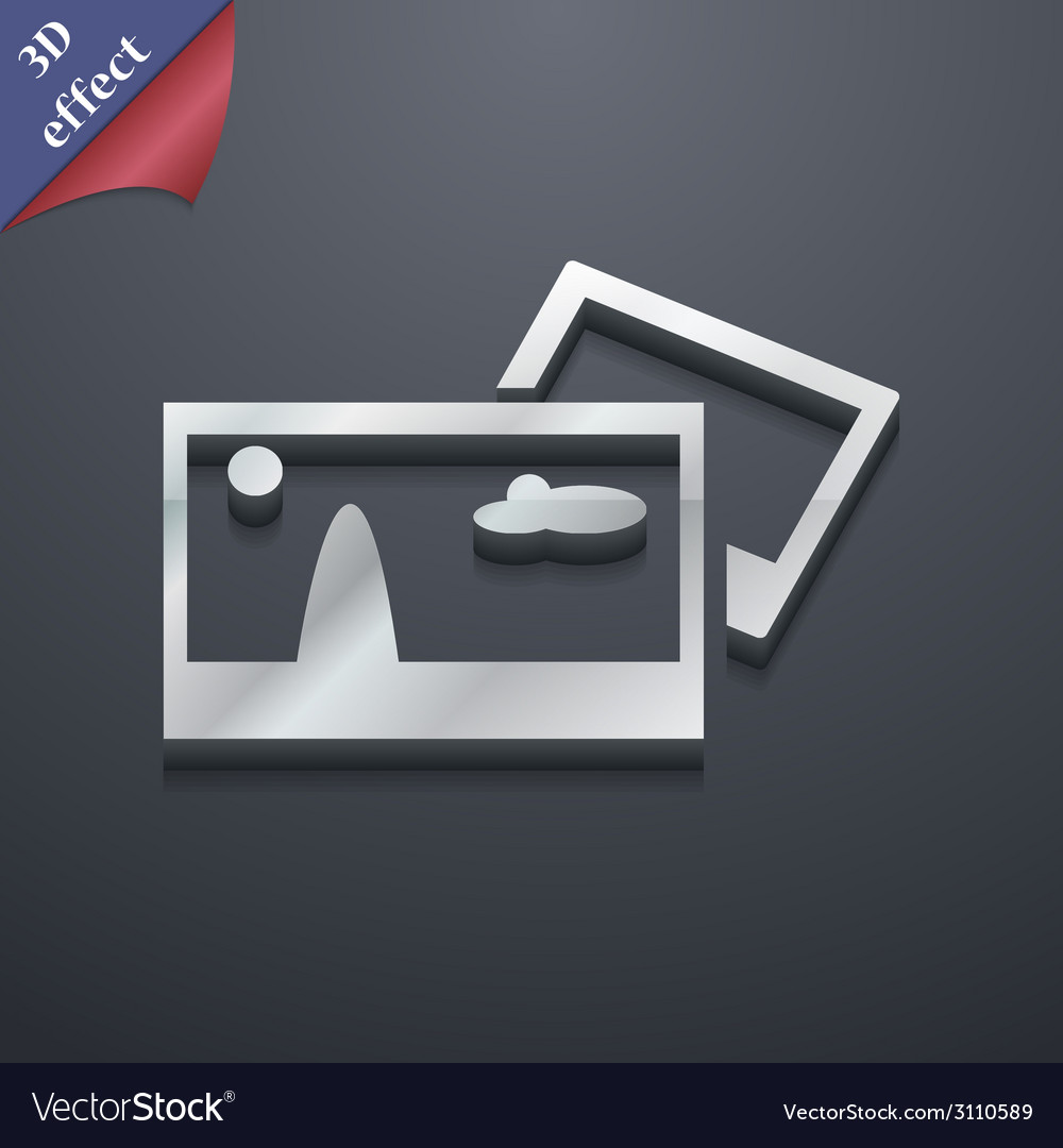 File jpg icon symbol 3d style trendy modern design vector | Price: 1 Credit (USD $1)