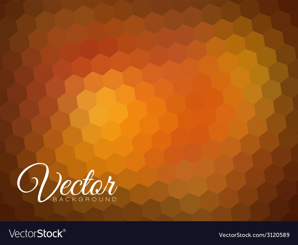 Hexagon background vector | Price: 1 Credit (USD $1)