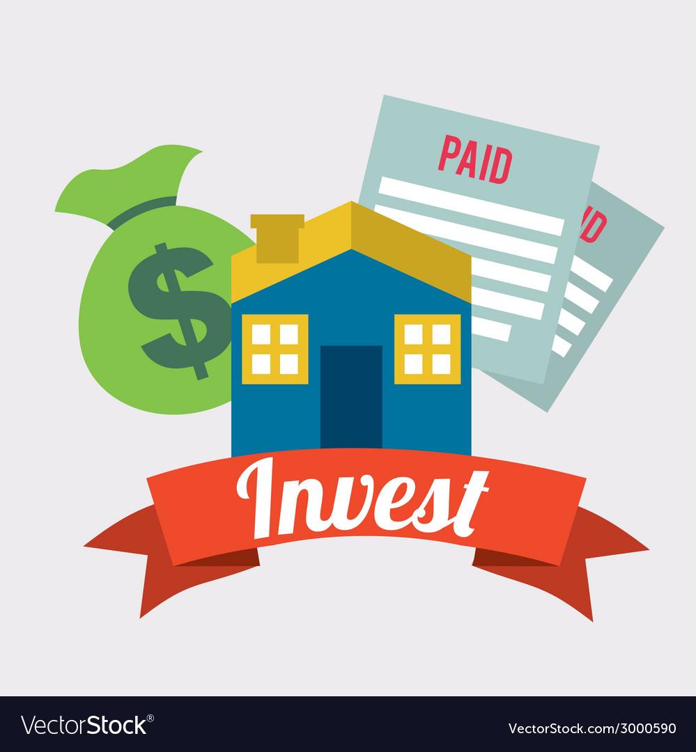 Invest design vector | Price: 1 Credit (USD $1)