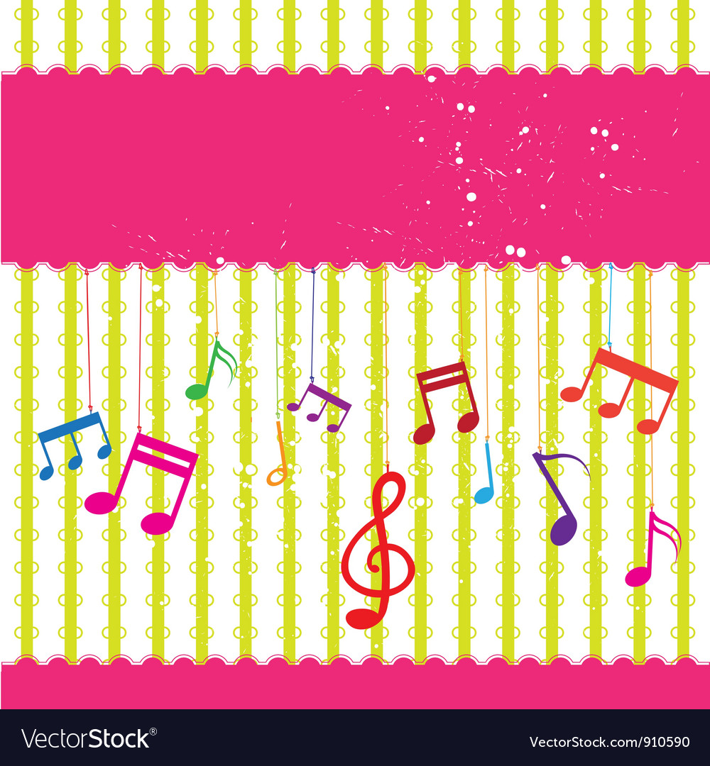 Music label design vector | Price: 1 Credit (USD $1)