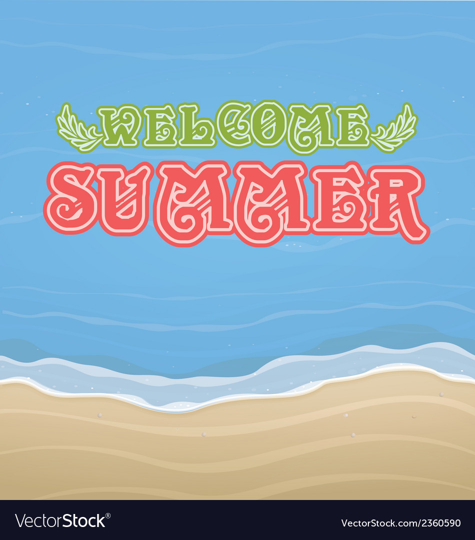 Summer 1 vector | Price: 1 Credit (USD $1)