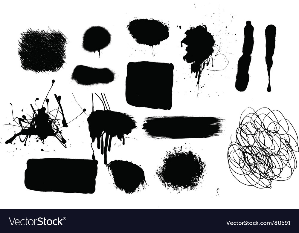 Grunge mark vector | Price: 1 Credit (USD $1)