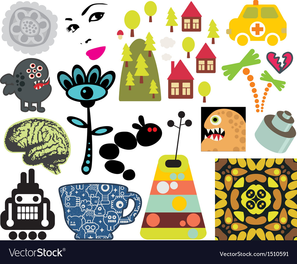 Mix of different images vol63 vector | Price: 3 Credit (USD $3)