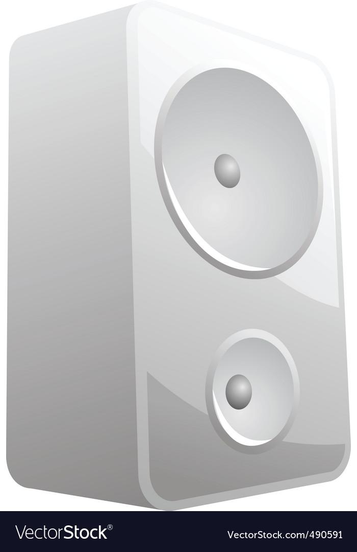Music speaker icon vector | Price: 1 Credit (USD $1)