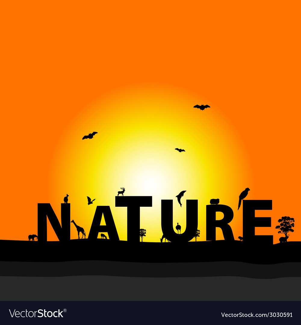 Nature color vector | Price: 1 Credit (USD $1)