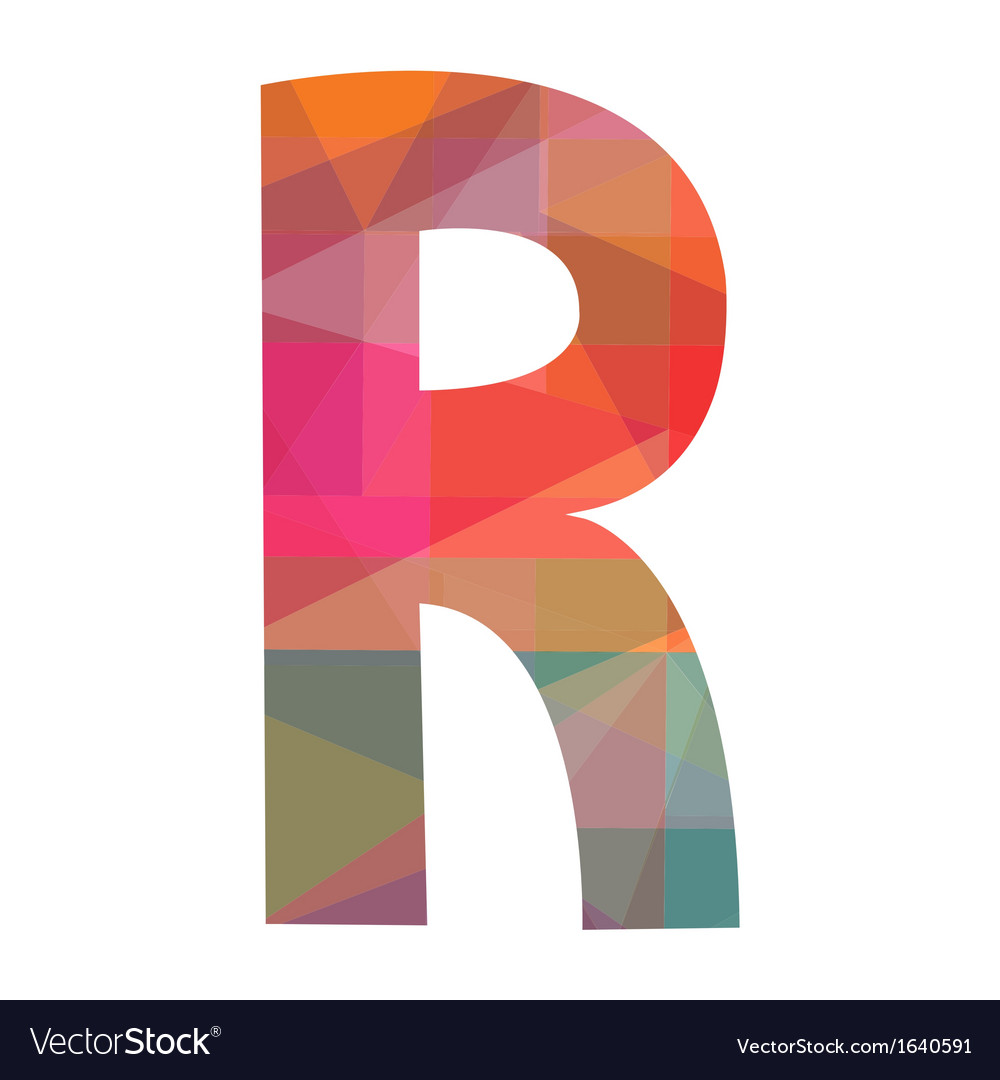R alphabet2 vector | Price: 1 Credit (USD $1)