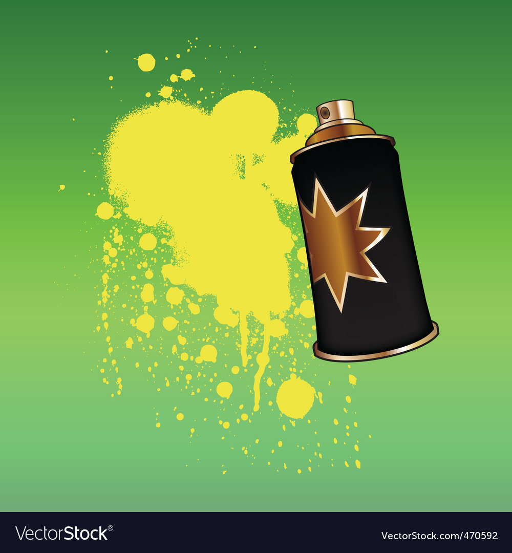 Aerosol spray vector | Price: 1 Credit (USD $1)